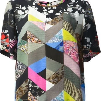 Preen By Thornton Bregazzi Mixed Print T-Shirt