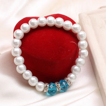 New Arrival Great Deal Gift Shiny Awesome Stylish Fashion Hot Sale Pearls Bangle Korean Accessory Bracelet [6573081095]