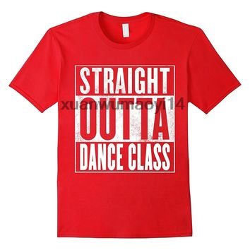 Straight Outta Dance Class T-Shirts - Men's Crew Neck Top Tees