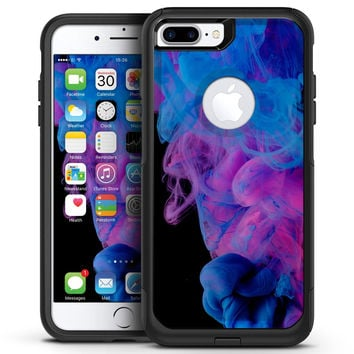 Glowing Pink and Blue CloudSwirl - iPhone 7 or 7 Plus Commuter Case Skin Kit