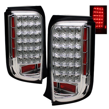 Scion XB 08-10 LED Tail Lights - Chrome