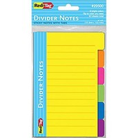 Redi-Tag® Divider Notes with Tabs, Assorted Colors, 60/Pk | Staples