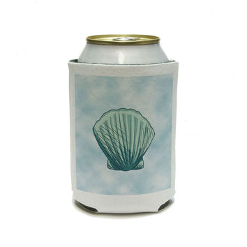 Seashell Ocean Sea Creature Beach Can Cooler Drink Insulator Beverage Insulated Holder