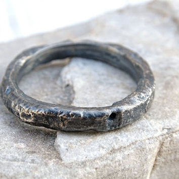 twig wedding band unique, rustic mens ring, rustic wedding ring men, twig wedding ring silver promise ring mens, rugged silver ring