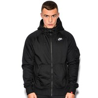AW77 Fleece Full Zip Hooded Top