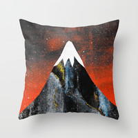 Two worlds (Part 2) Throw Pillow by Elisabeth Fredriksson