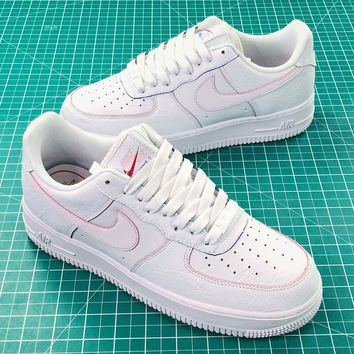 Newest Nike Air Force 1 Low Af1 White Sport Shoes - Sale