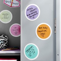 Dry Erase Bubble Locker Magnets, Set Of 5