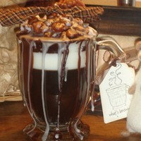 16 ounce Gingerbread Latte Candle with Cinnamon and Vanilla Drizzle...... | CountryCraftsandCandies - Candles on ArtFire