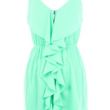 The Mint Front Zipper Dress - 29 N Under