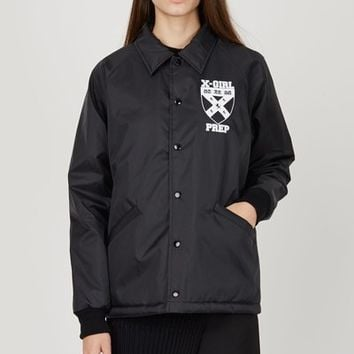 Opening Ceremony OC-EXCLUSIVE Opening Ceremony X-Girl Coach Jacket - WOMEN - JUST IN - Opening Ceremony