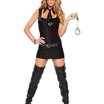 Bad Cop Costume | Sexy Clothes Womens Sexy Dresses Sexy Clubwear Sexy Swimwear | Flirt Catalog