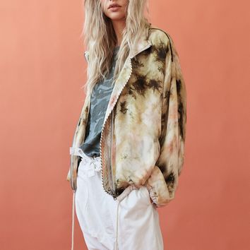Free People Tie Dye Windbreaker