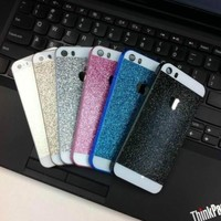 New Luxury Bling Glitter Hard Plastic Back Case Cover for Apple iPhone 6 4S 5S
