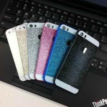 New Luxury Bling Spakle Glitter Hard Plastic Back Case Cover for iPhone/Samsung