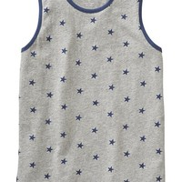 Old Navy Boys Star Print Ringer Tanks