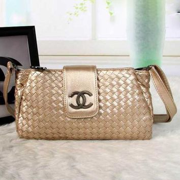 CHANEL New Fashion Women Shopping Leather Crossbody Shoulder Bag