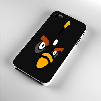 Angry Birds Black Sketch iPhone 4s Case