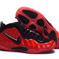 DCCKL8A Jacklish Nike Air Foamposite Pro Red Black Girls Size For Sale