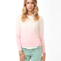 Ombre Raglan Sweater