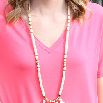 The Teresa Necklace, Cream | BPD