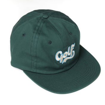 GOLF CURSIVE HAT GREEN