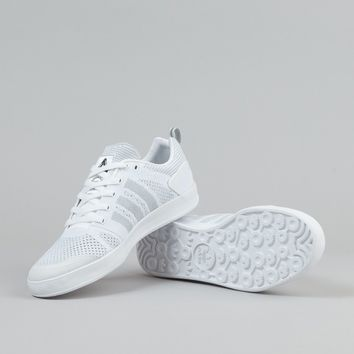 Adidas X Palace Pro Primeknit Shoes - White   Black   White 118f0d5870
