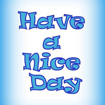 Have a nice day, Navy Blue Baby Boy, Nursery Printable Wall Art, home decor, boys room decal, Inspirational Quote decals, print, decoration
