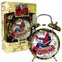 Marvel Retro Spiderman Alarm Clock