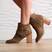 Mavi Buckle Booties
