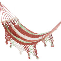 Mission Hammocks Ninette Baby Outdoor/Indoor Organic Cotton Bar Hammock Handmade