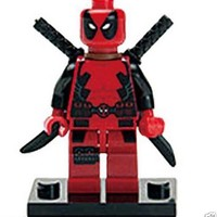 Super Heroes deadpool marvel building blocks lego Minifigures kids toys