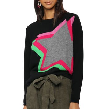 WYSE Estelle Star Sweater
