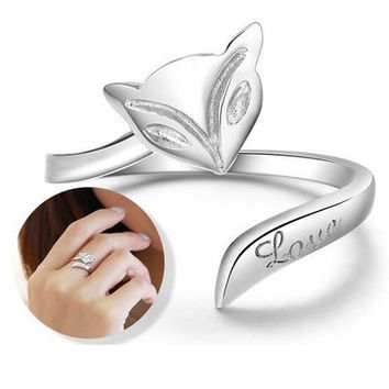 Shiny New Arrival Gift Stylish Couple Korean Jewelry Ring [10427400084]