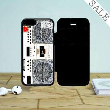 DCKL9 Nike Air Jordan Radio Boombox iPhone 5 Flip Case
