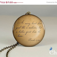 ON SALE: pendant charm,bible quotes resin pendants,love charm jewelry,grace glass pendant- Q0019CP