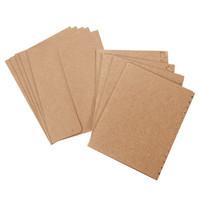 Darice: 40 A2 Kraft Cards w/ & 40 Envelopes Decorative Borders for Handmade Cards