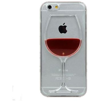 Wine Cup Phone Case for iPhone