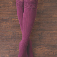 Tall Lace Boot Sock By Simply Noelle