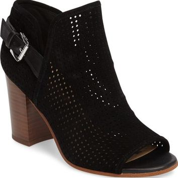Sam Edelman Easton Perforated Open Toe Bootie (Women) | Nordstrom