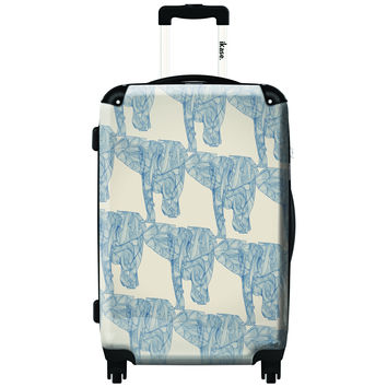 iKase Elephant Herd 20-inch Carry On Hardside Spinner Suitcase | Overstock.com Shopping - The Best Deals on Carry On Upright Luggage