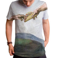 Tacos From Above Men's T-Shirt