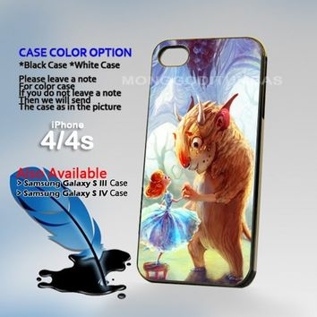 Beauty And The Beast, Photo On Hard Plastic iPhone 4 4S Case