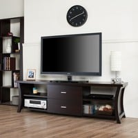 Furniture of America Danbury Modern 2-drawer TV Console | Overstock.com Shopping - The Best Deals on Entertainment Centers