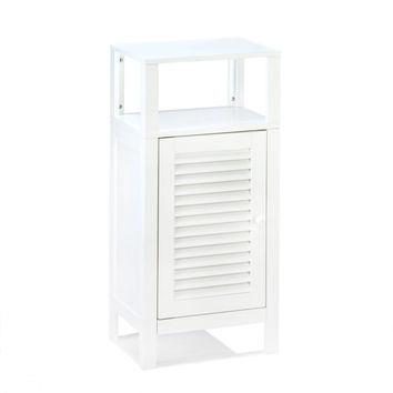 White Bathroom Storage Cabinet