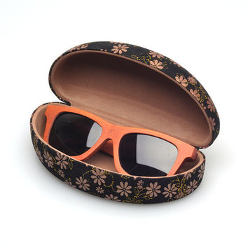 Fashion Rose Wood Polarized sunglasses