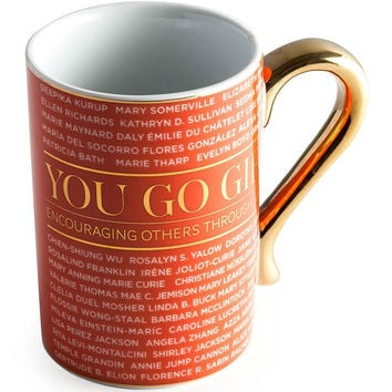 You Go Girl Accomplished Women in Science, Technology, Engineering, & Math Coffee Mug