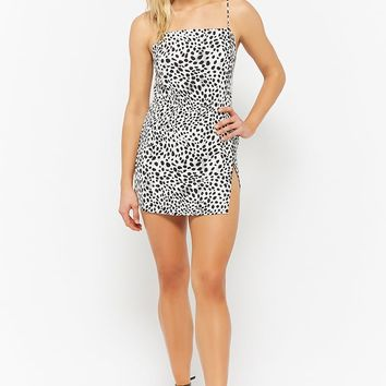 Motel Cheetah Print Cami Dress