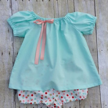 Mint Baby Girl Dress - Babys First Birthday Dress with Bloomers  sc 1 st  wanelo.co & Best Baby Girls First Birthday Gifts Products on Wanelo