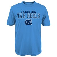 North Carolina Tar Heels Fulcrum Performance Tee - Boys 8-20, Size: